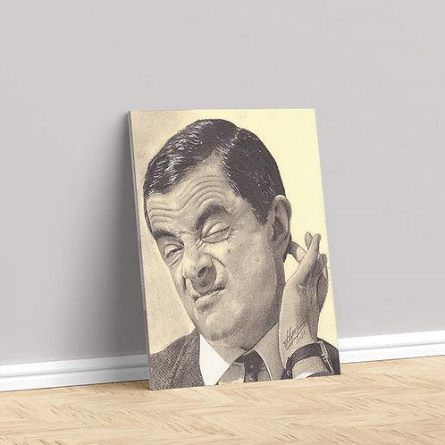 """Tablou Canvas """"Mr. Bean"""" 40x50cm"""