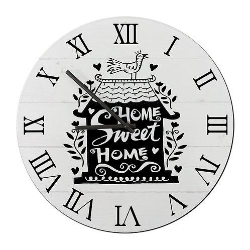 """Ceas de perete rotund """"Home Sweet Home2"""""""