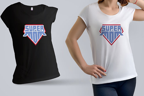 "Tricou ""Super Mom"""