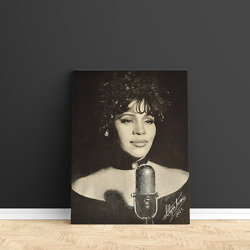 "Tablou Canvas ""Whitney Houston"" 40x50cm"