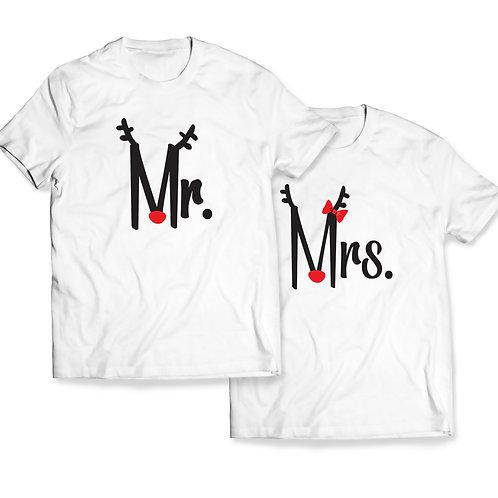 """Tricou Cuplu """"Mr. and Mrs."""""""