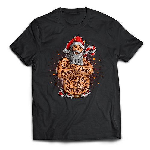 "Tricou ""Tattooed Santa"""
