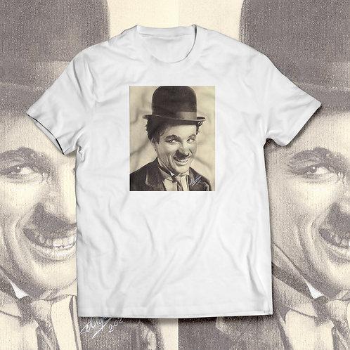 """Tricou cu grafică """"Charlie Chaplin"""""""