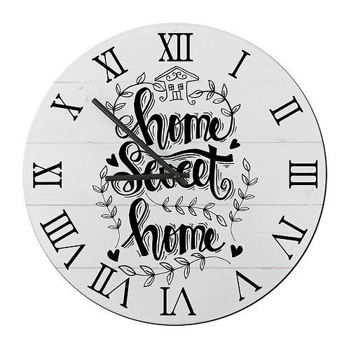"""Ceas de perete rotund """"Home Sweet Home1"""""""
