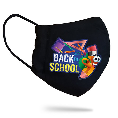 "Mască copii ""Back to School"""
