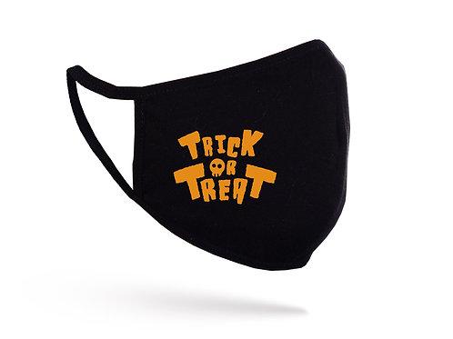 Mască Trick or Treat neagră