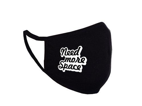 Acoperitoare facială Need More Space neagră