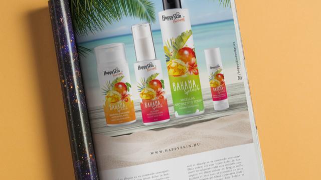 Grafică publicitate în reviste