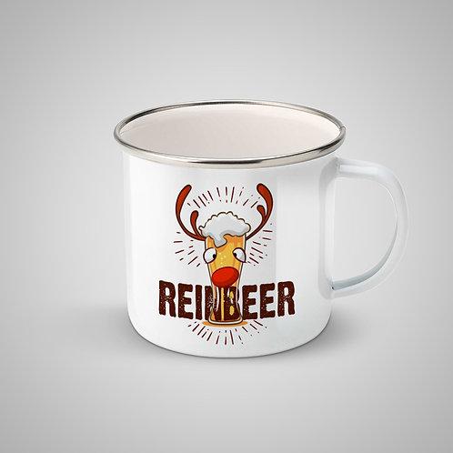 """Cană metalică emailată """"Reinbeer"""""""
