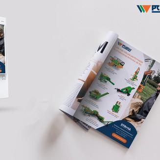 Reclama revistă si Social Ads