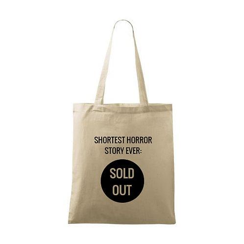 """Sacoșă personalizată""""Sold Out"""""""