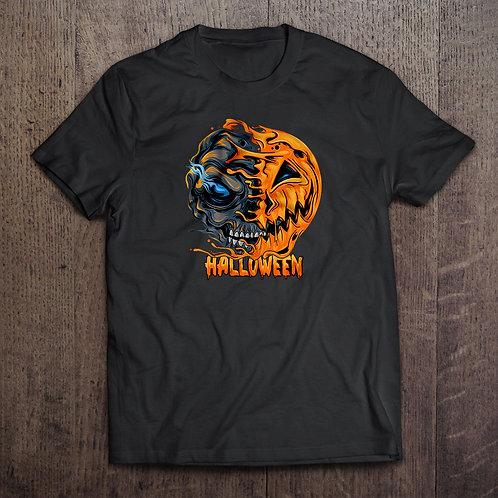 "Tricou ""Halloween Pumpkin Skull"""