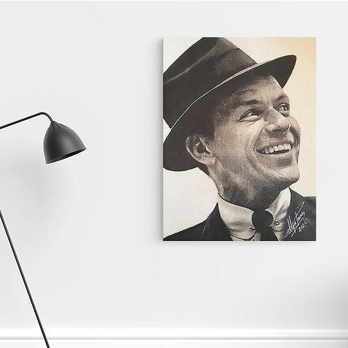 "Tablou Canvas ""Frank Sinatra"" 40x50cm"