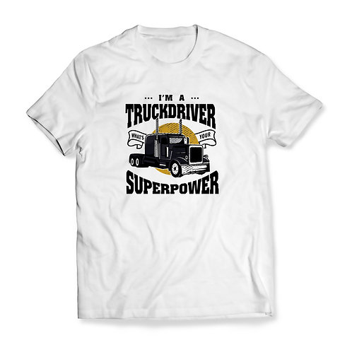 "Tricou ""Truckdriver Superpower"""