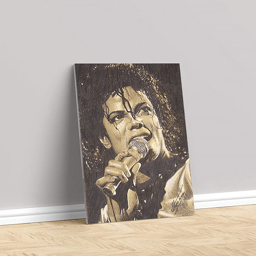 """Tablou Canvas """"Michael Jackson"""" 40x50cm"""