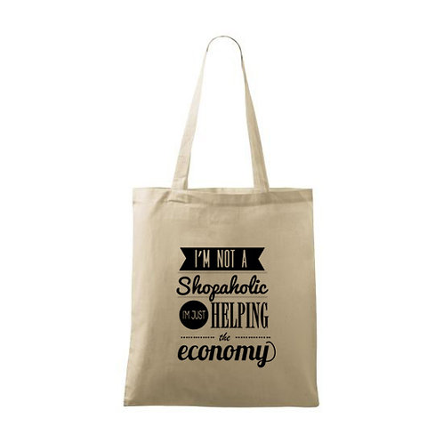 "Sacoșă personalizată ""I`m not a Shopaholic """
