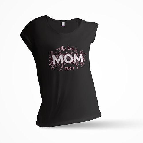 "Tricou ""Best Mom"" Slim/Regular"