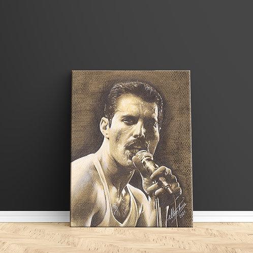 """Tablou Canvas """"Freddie Mercury"""" 40x50cm"""