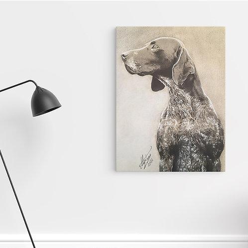 """Tablou Canvas """"Dog2"""" 40x50cm"""