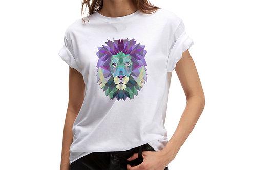 "Tricou ""Geometric Lion"""