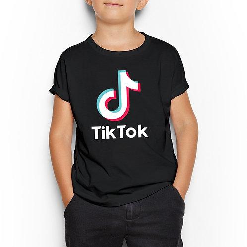 "Tricou ""TikTok"" copii, 5-12 ani"