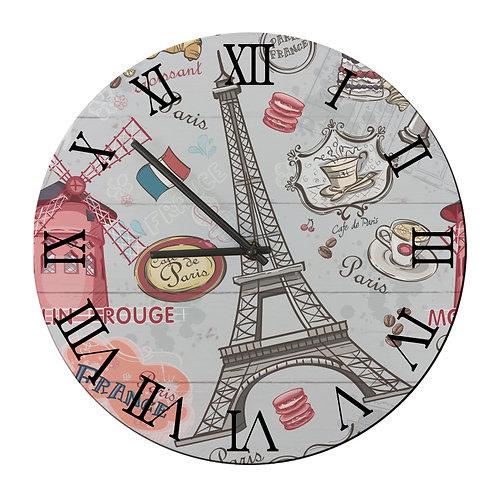 "Ceas de perete rotund ""Paris"""