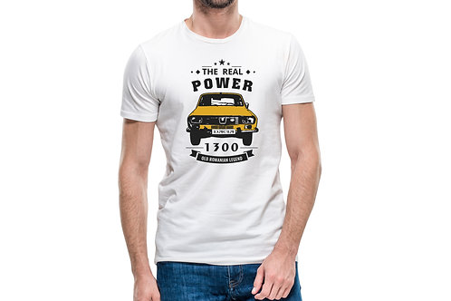 "Tricou ""The real power of Dacia"""