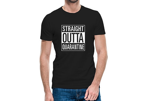 "Tricou ""Straight Outta Quarantine"""