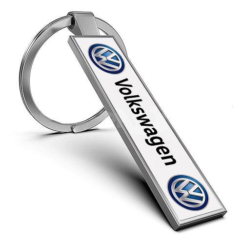 Breloc personalizat cu număr înmatriculare auto și logo mașină