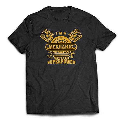 "Tricou ""Mechanic Superpower"""