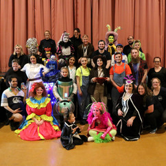 Cast and Crew of Out Of Space  - A Pantomime