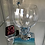 Thumbnail: Gin Lovers Gift - Seacscape Coaster, glass, stirrer and petals