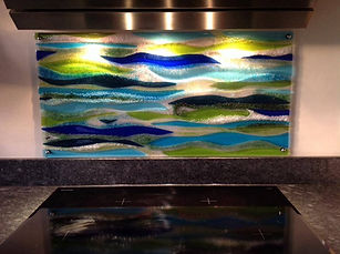 River Cooker Splashback
