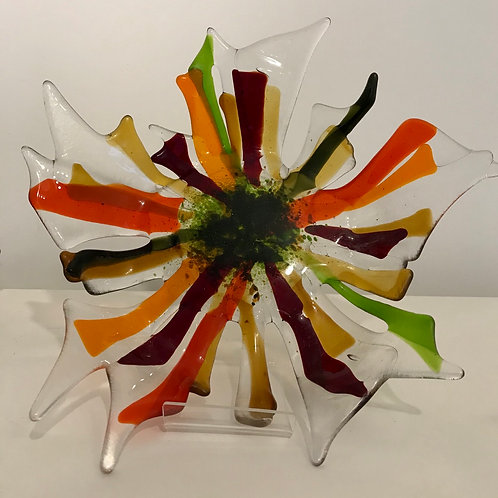 Large Flower fruit Bowl
