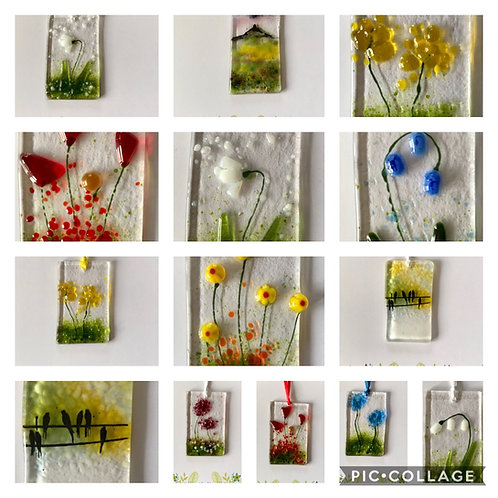 Present Cards - - Card and a beautiful hanging gift.