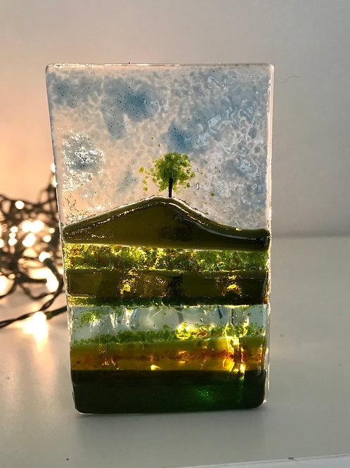 Burrow Hill Tealight Panel