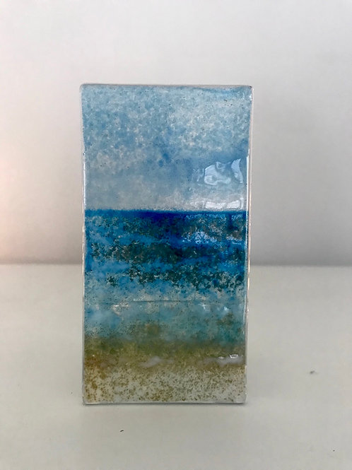 Seascape Tealight Panel