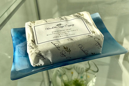 Soap Dish and Soap in a Gift Tin