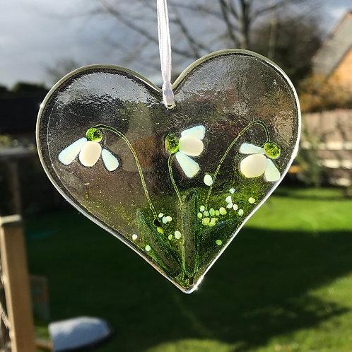 Snowdrop Heart