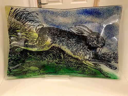 Mad March Hare Wave Platter