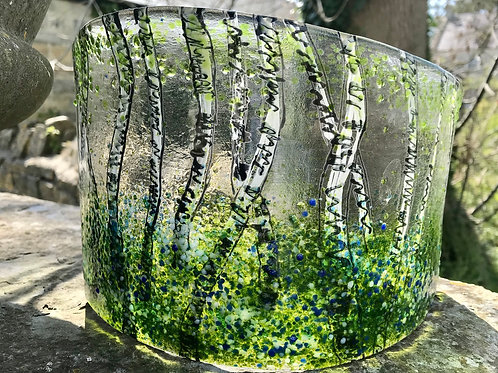 Bluebell Wood Large Glass Arc