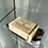 Thumbnail: Soap Dish and Soap in a Gift Tin - Lovely black, grey and white streaky glass