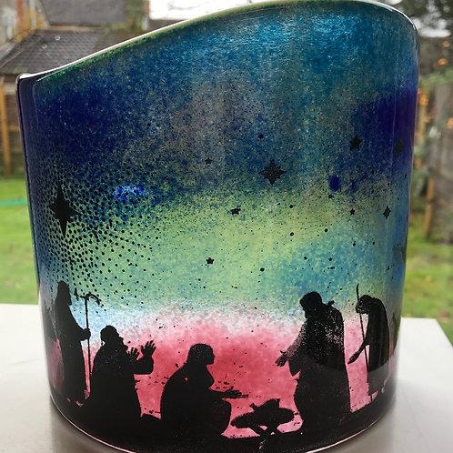 Nativity Arc Pink/Blue