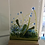 Thumbnail: Forget-me-Not Panel in a Woodblock