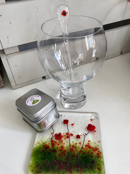Gin lovers Gift - Poppy Fields