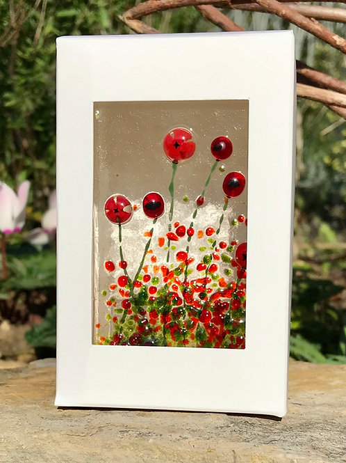 Poppy Tealight Panel