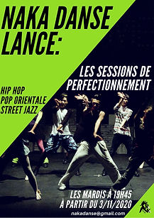 Session Hip Hop NaKa danse
