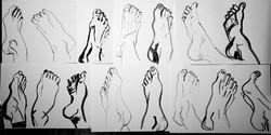 composizione piedi
