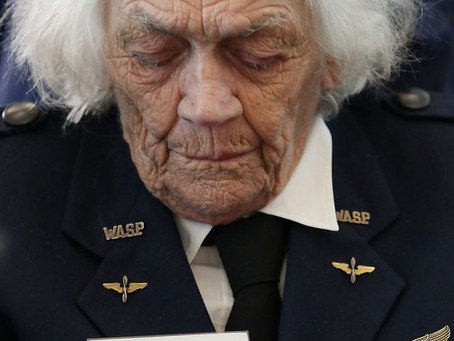 Her love of flying leads to career as WASP in WWII