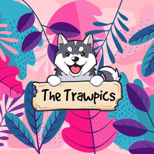 The Trawpics - Tropical Fruits + Pineapple + Mango + Acai Berry + Yuzu